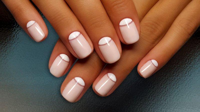 гель лак ногти фото на короткие ногти