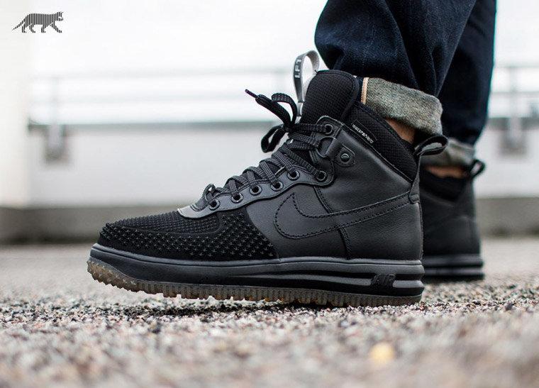 cb9f9392b937 Черные высокие зимние кроссовки Nike» — картка користувача vsnv2017 ...