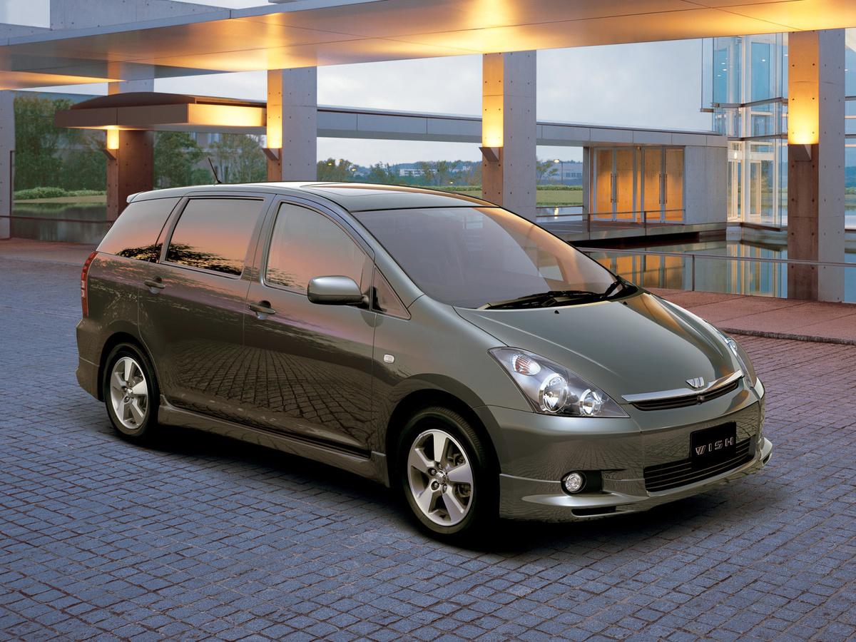 Toyota Wish .