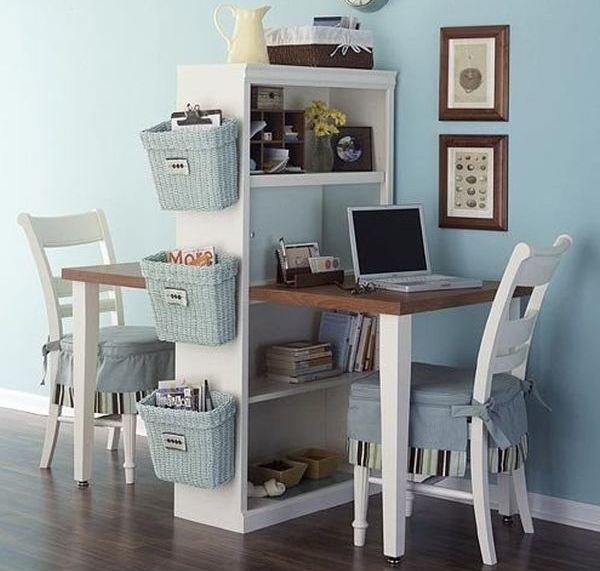 Необычный дизайн интерьера для школьника с письменным столом