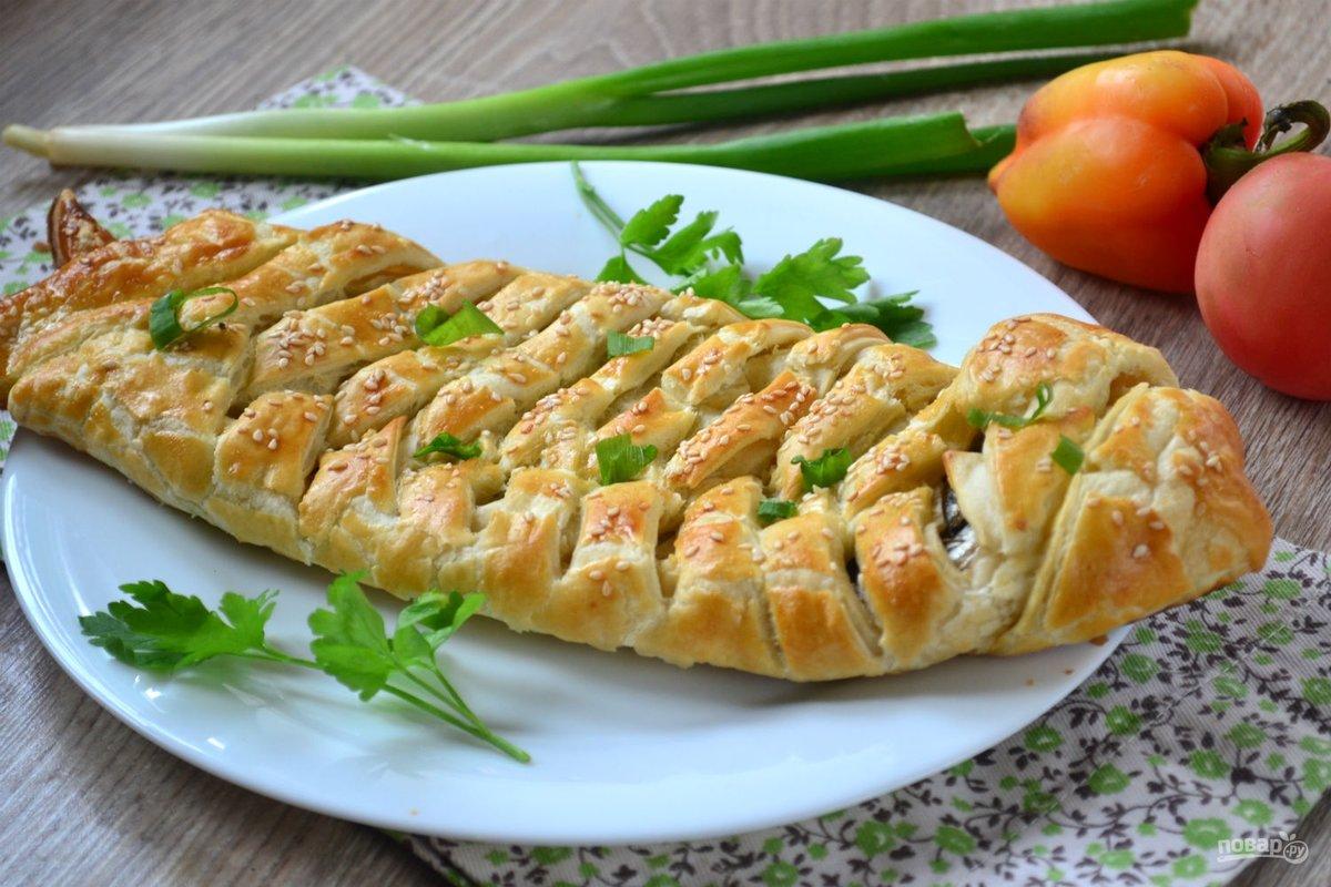 блюда со слоеным тестом фото рецептом адреса