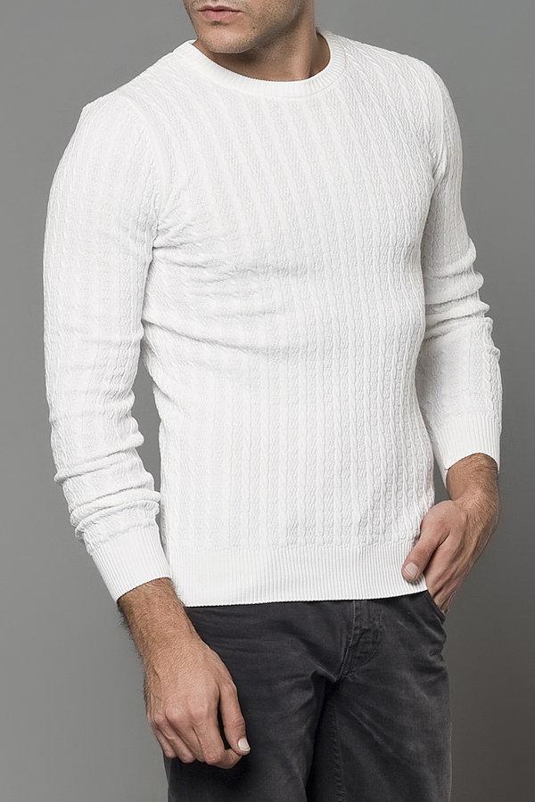 Мужской белый джемпер фото