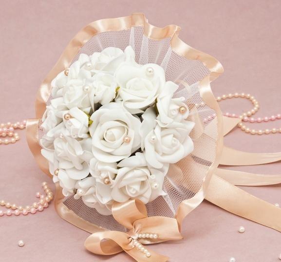 Свадебного букета для невесты муляж, оптом розницу букеты