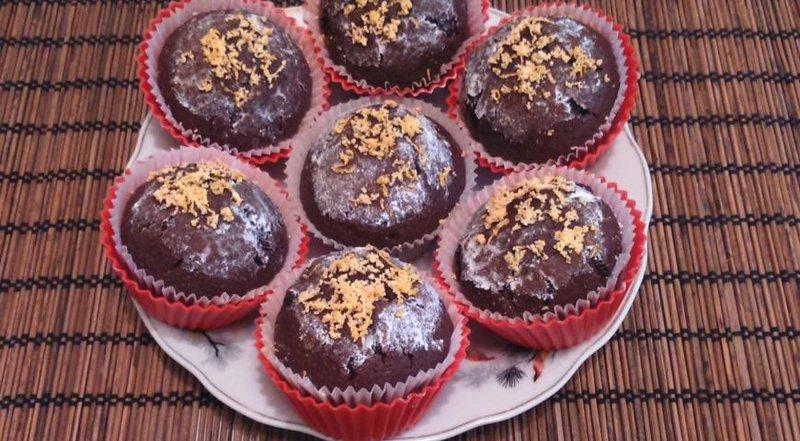 шоколадные маффины простой рецепт с фото