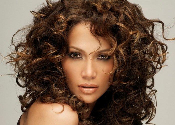 красивая химия на волосы