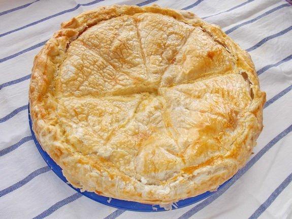 Песочное тесто для пирога с фетой