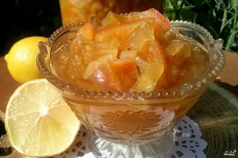 Варенье из кабачков рецепт с фото пошагово