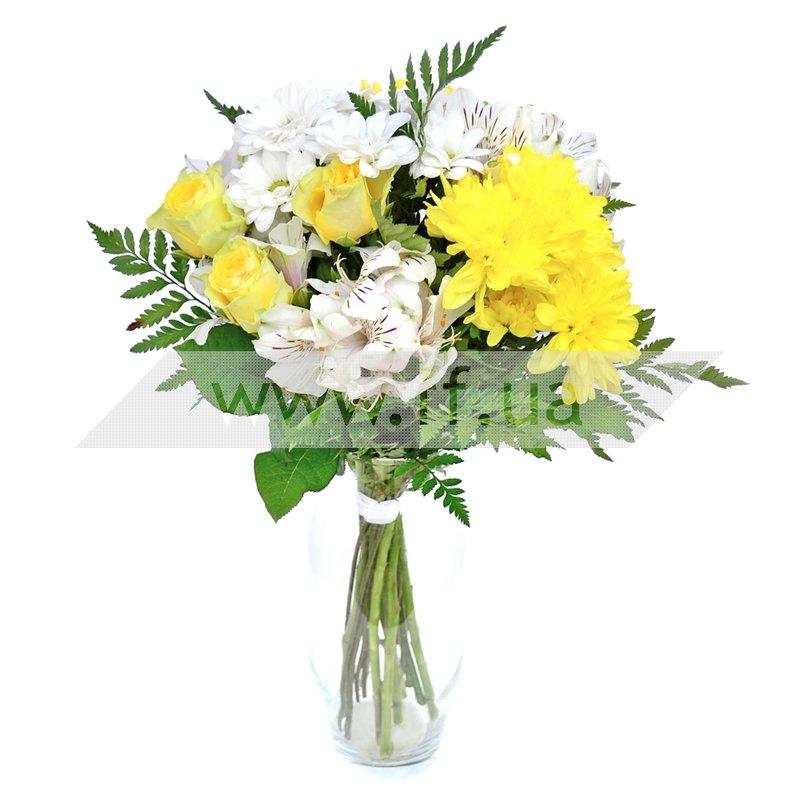 Букеты микс :: Букет цветов Нора