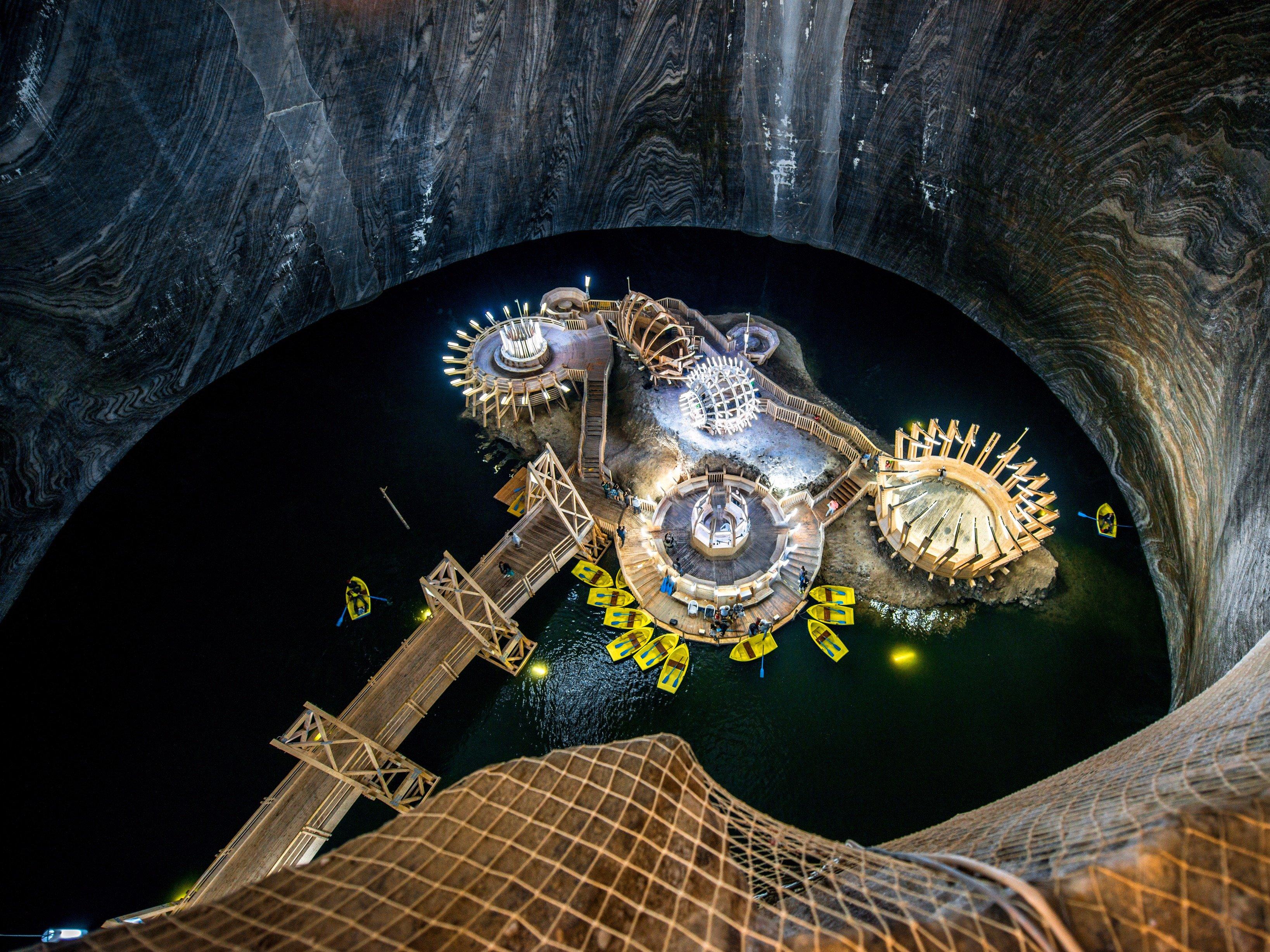 Соляная шахта Салина Турда