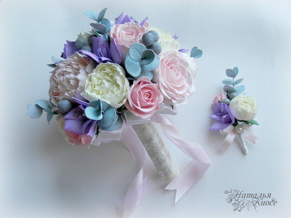 Шикарные букеты, букеты дублеры на свадьбу из фоамирана