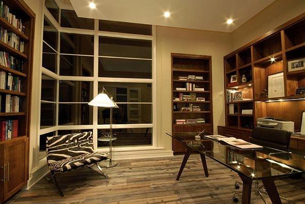 Великолепные дизайнерские решения для кабинета
