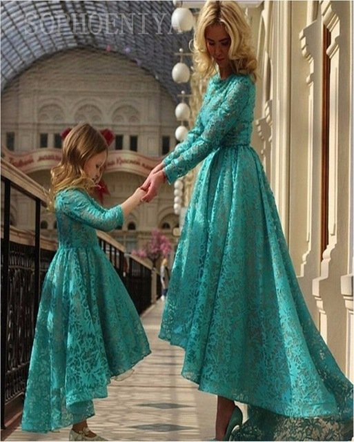 Мать и дочь вечерние платья