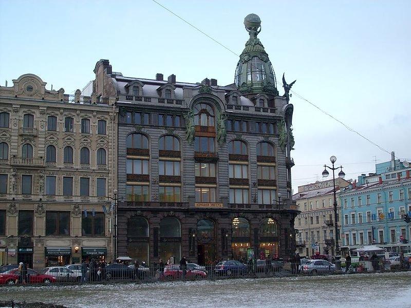 «Дом книги» в Санкт-Петербурге