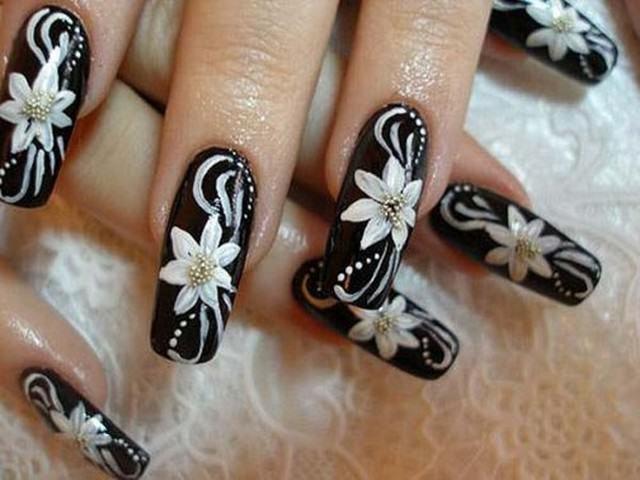 материал, картинки ногтей с лилиями леонид