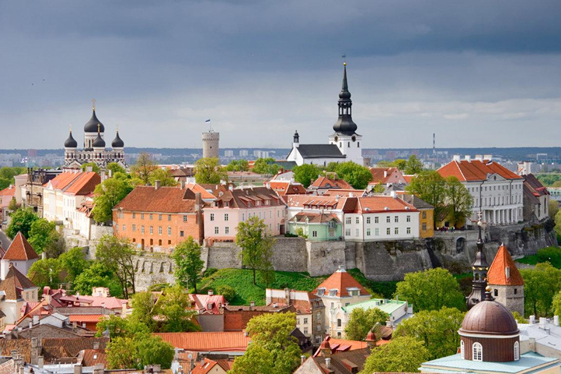 Эстония картинки города