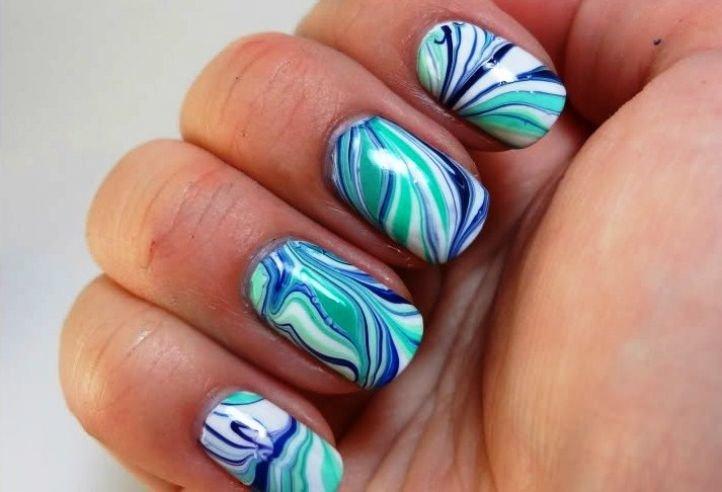 Маникюр: Простые рисунки на ногтях в домашних условиях