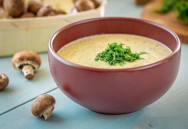 Сливочный грибной суп рецепт с фото пошагово