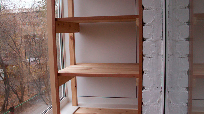 Как сделать шкаф на балконе своими руками - инструкция с илл.