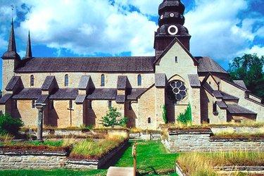варнхемский монастырь швеция
