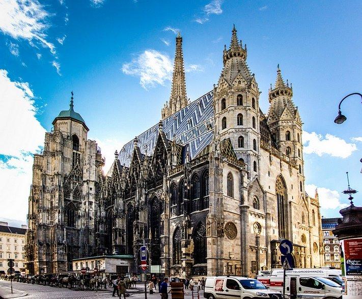 Славянский язык в святая святых Вены