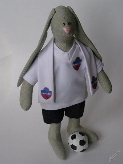 Кролик тильда футболист