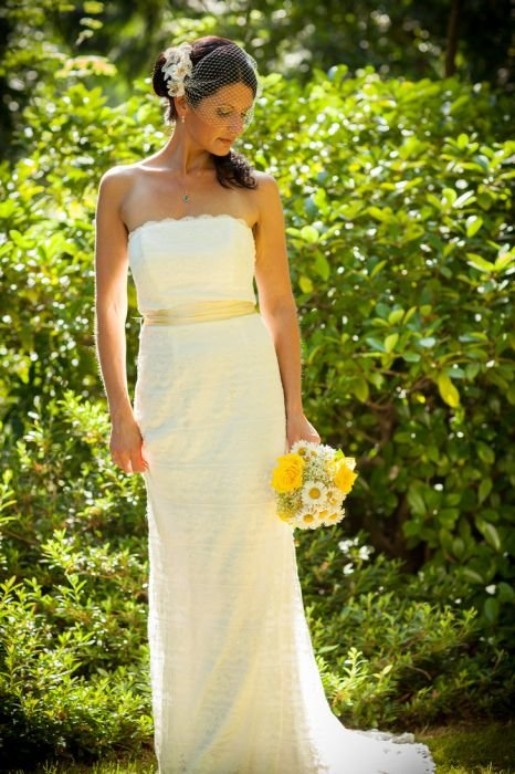 Платье для желтой свадьбы