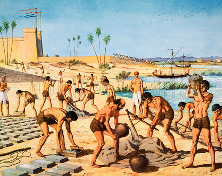ancient egyptian slavery Slaves and slavery in ancient egypt by jimmy dunn for many years, it was presumed that in ancient egypt , the great pyramids at giza were built by many thousands of foreign slaves, toiling under very harsh conditions over a period of decades.