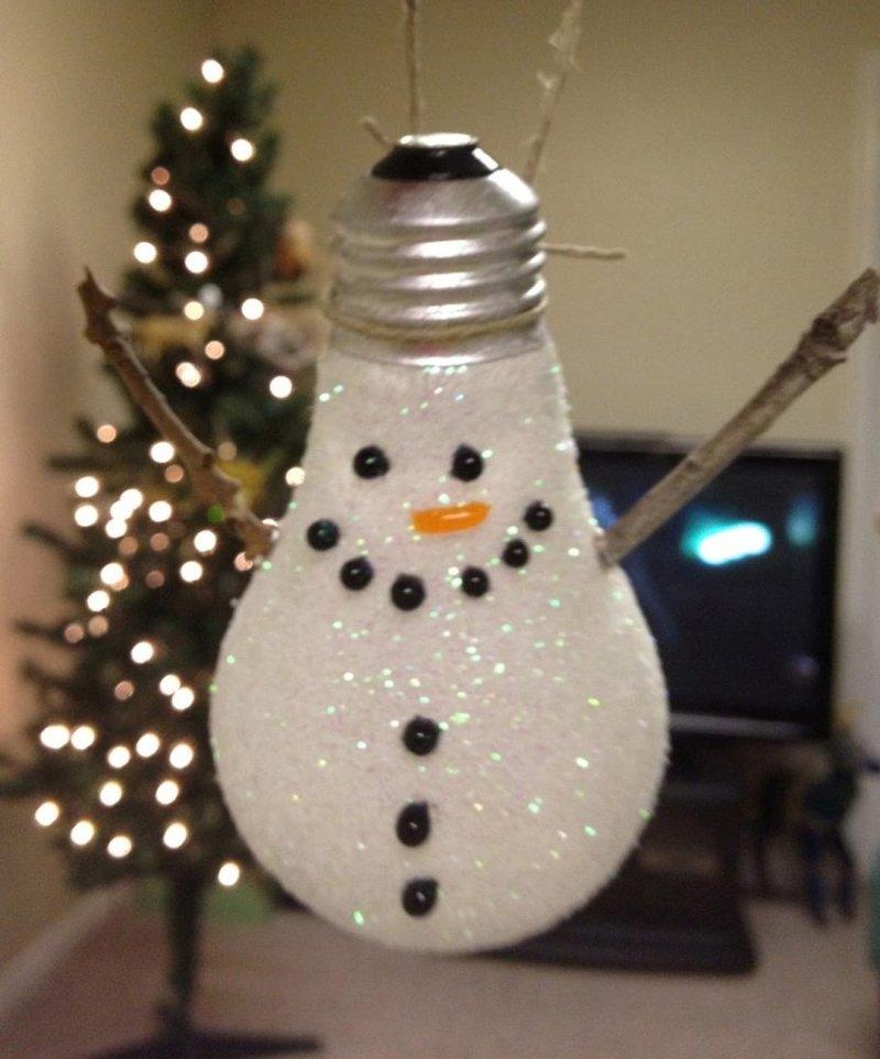 Снеговик из лампочки своими руками фото, кошки своими руками выкройки фото, детские комнаты фото своими руками