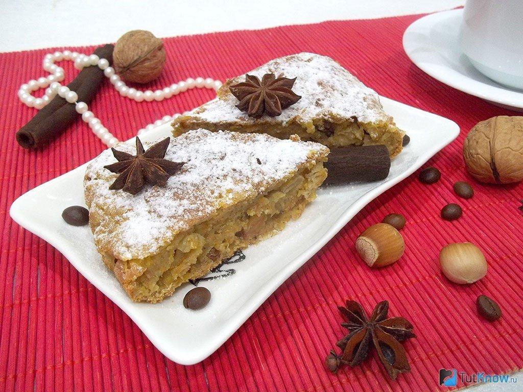 Пирог с изюмом калорийность