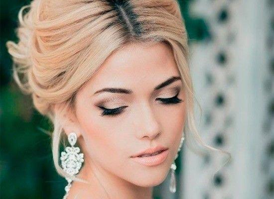 ... Свадебный макияж зимой ...
