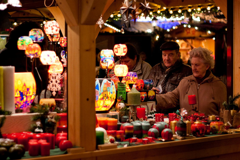 Волшебство на рождественских ярмарках
