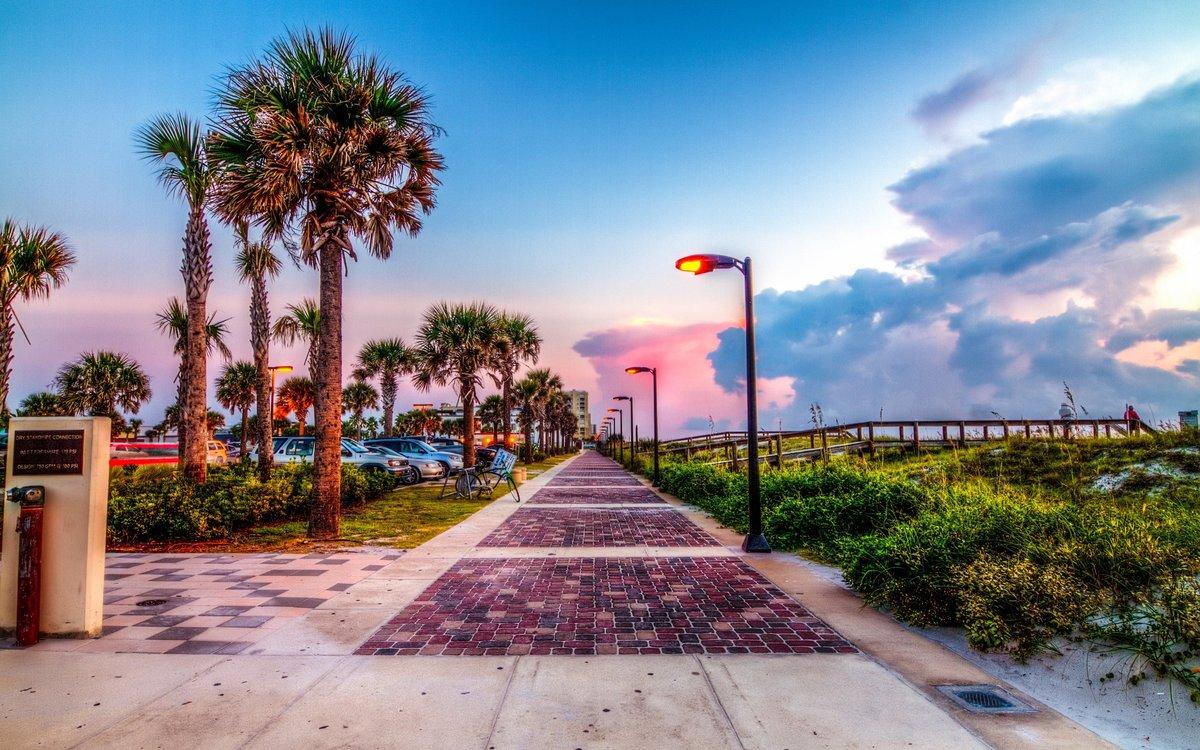 Download Jacksonville Beach HD Wallpapers in Widescreen, 4K UHD, 5K, 8K Ultra HD