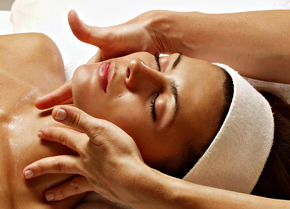 Фото с надписью массаж лица, открытка