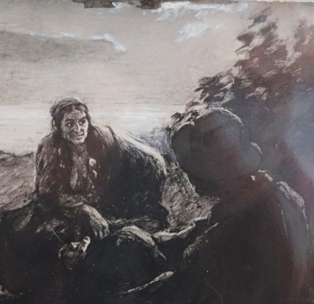 Иллюстрации к легенде о ларре