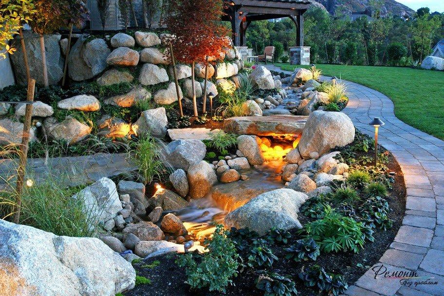 ландшафтный дизайн садового участка 6 соток своими руками фото 5