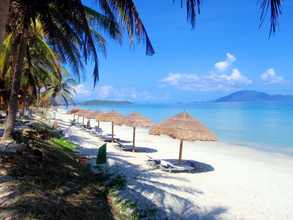 фото пляжа нячанг вьетнам