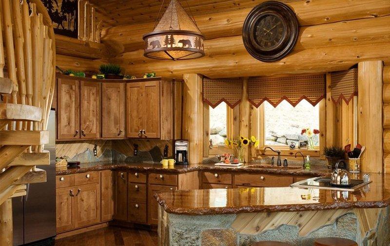 Дизайн дома из дерева внутренняя отделка