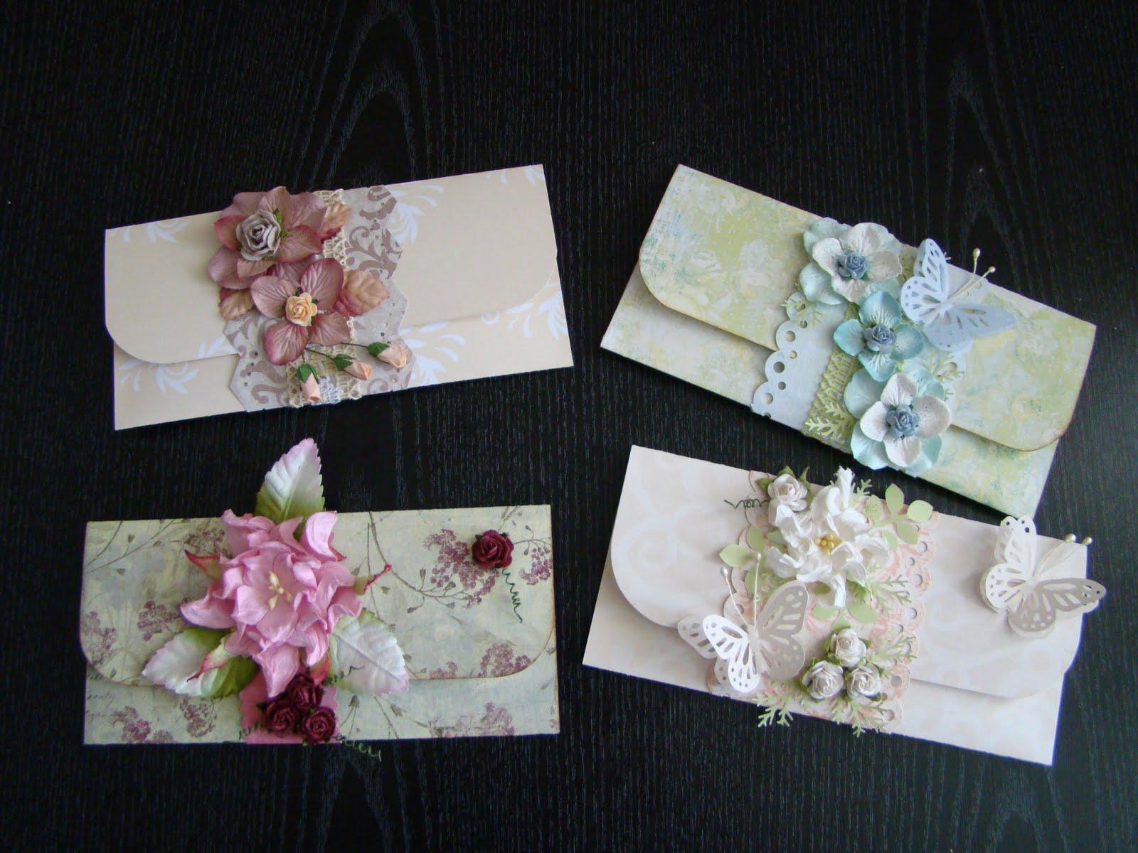 Скрапбукинг открытки для денег своими руками
