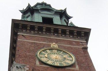 башенные часы краков