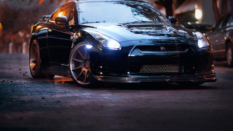 Mitsubishi. Новые бесплатные широкоформатные обои и картинки каждый день. Обои mitsubishi, машина, черный, авто, evo 10, lancer, evolution.