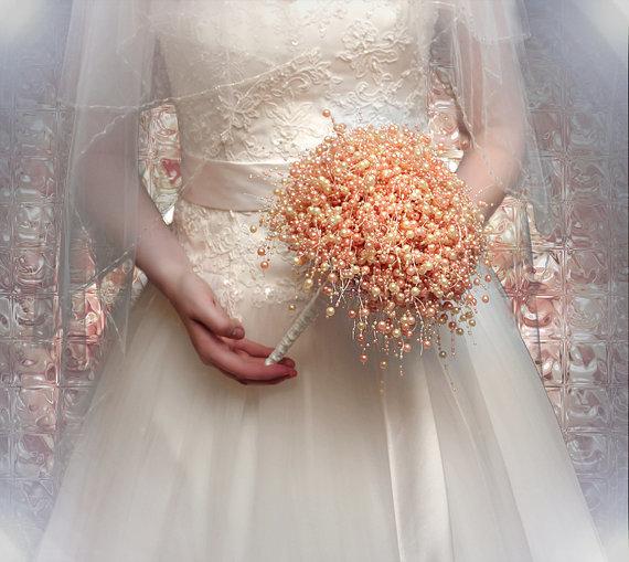 Для поминок, свадебный букет из бусин своими руками