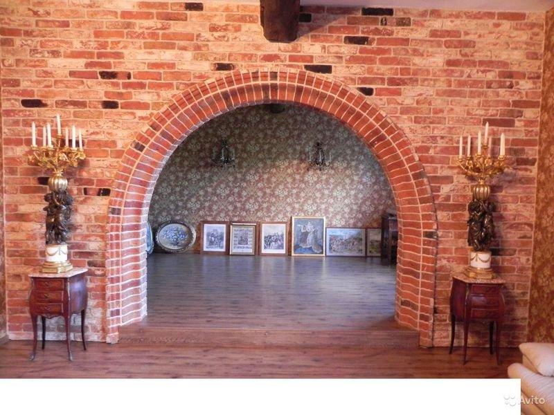 кирпичная арка фото
