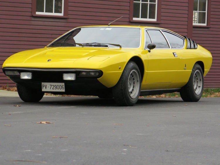 1975 Lamborghini Urraco - характеристики, фото, видео, цена