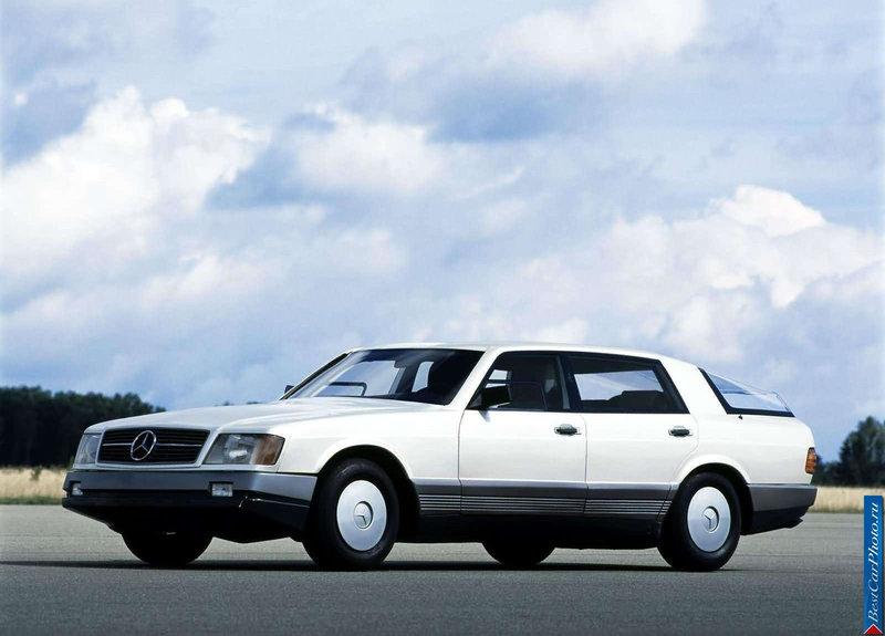 1981 Mercedes-Benz Auto 2000 Concept | Фото о Mercedes-Benz Auto 2000 Concept  | AutoNeva.ru