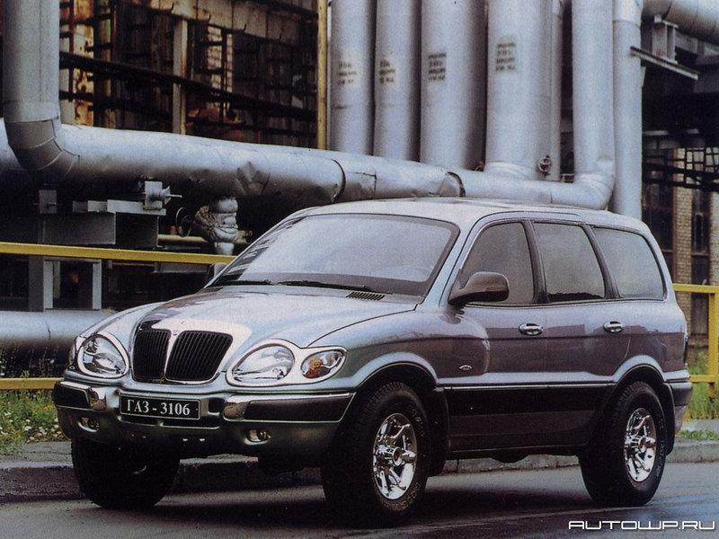 Автомодельное бюро: ГАЗ-3106