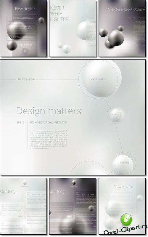 Абстрактные фоны для презентации и бизнес планов для CorelDRAW и Adobe Illustrator скачать бесплатно без регистрации