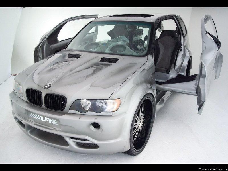 Alpine BMW X5 Ultimate Listening Machine (2005) - Иномарки - Обои