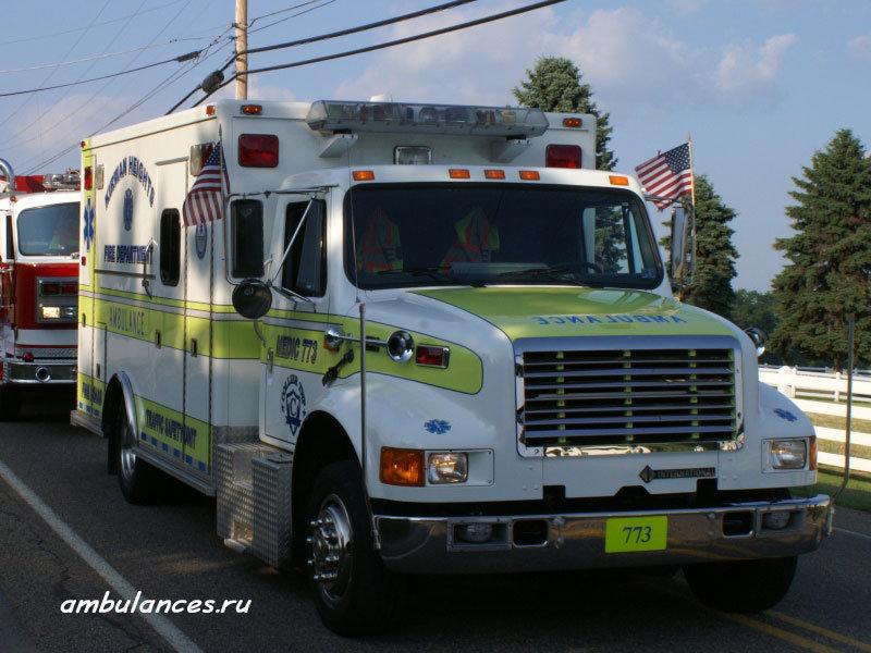 AMBULANCES.RU : : Автомобили скорой помощи : : Кругосветное путешествие : : США