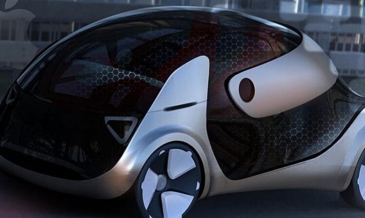 Apple показала концепт своего первого автомобиля
