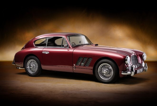 Aston Martin, DB2-4, Sports, Saloon, Rallye Monte Carlo, retro, old car